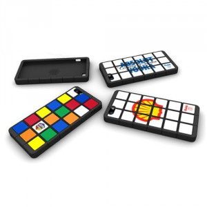 Coque iPhone en forme de Rubik's Cube
