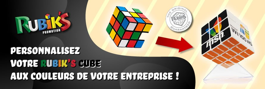 Objets Rubik's Cube